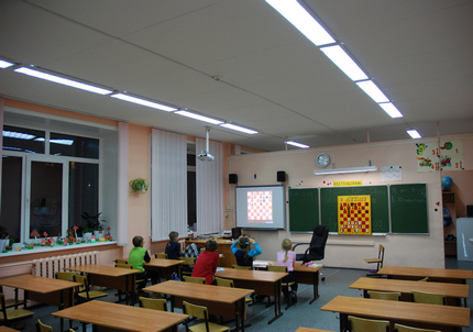 Светильники для школ